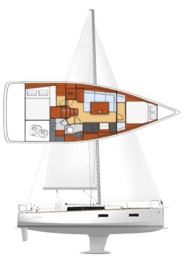 2015 Beneteau 38' Oceanis 38 SCONNIE2  | Picture 2 of 74