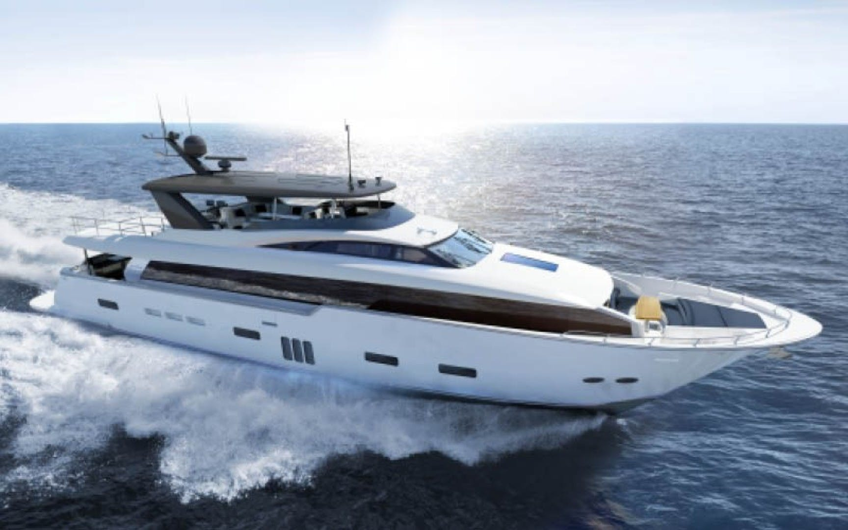 2022 Hatteras 104'  105 RAISED PILOTHOUSE   Picture 1 of 9
