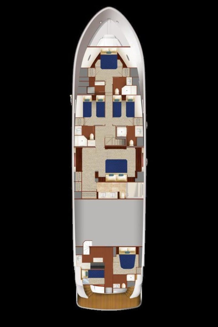 2021 Hatteras 90' M90 M90 PANACERA | Picture 8 of 11