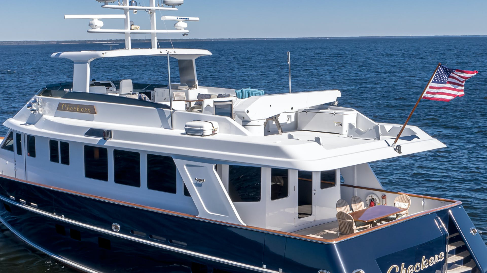 2001 Burger 85' 85 Motor Yacht Checkers | Picture 8 of 86