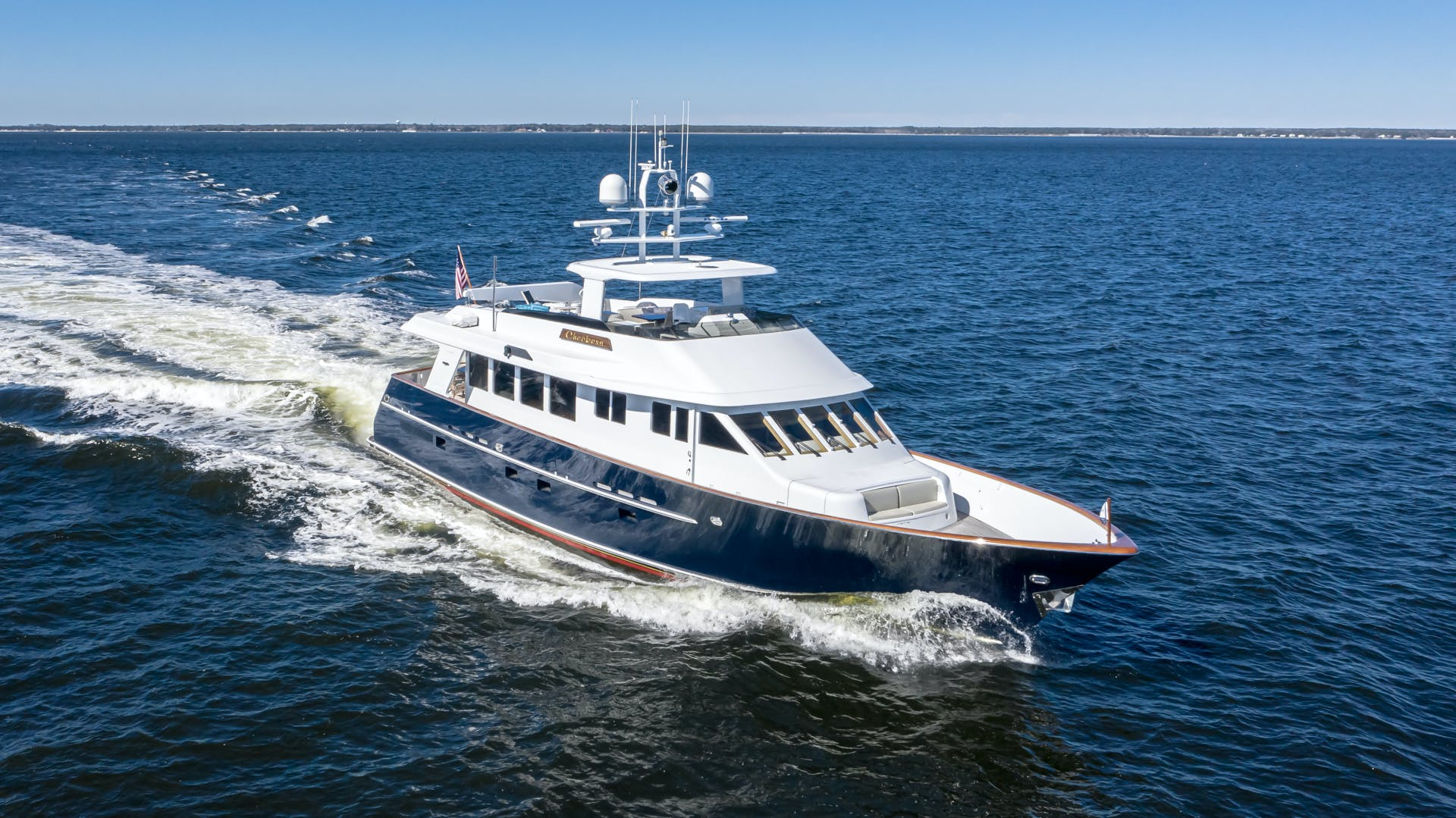 2001 Burger 85' 85 Motor Yacht Checkers | Picture 3 of 86