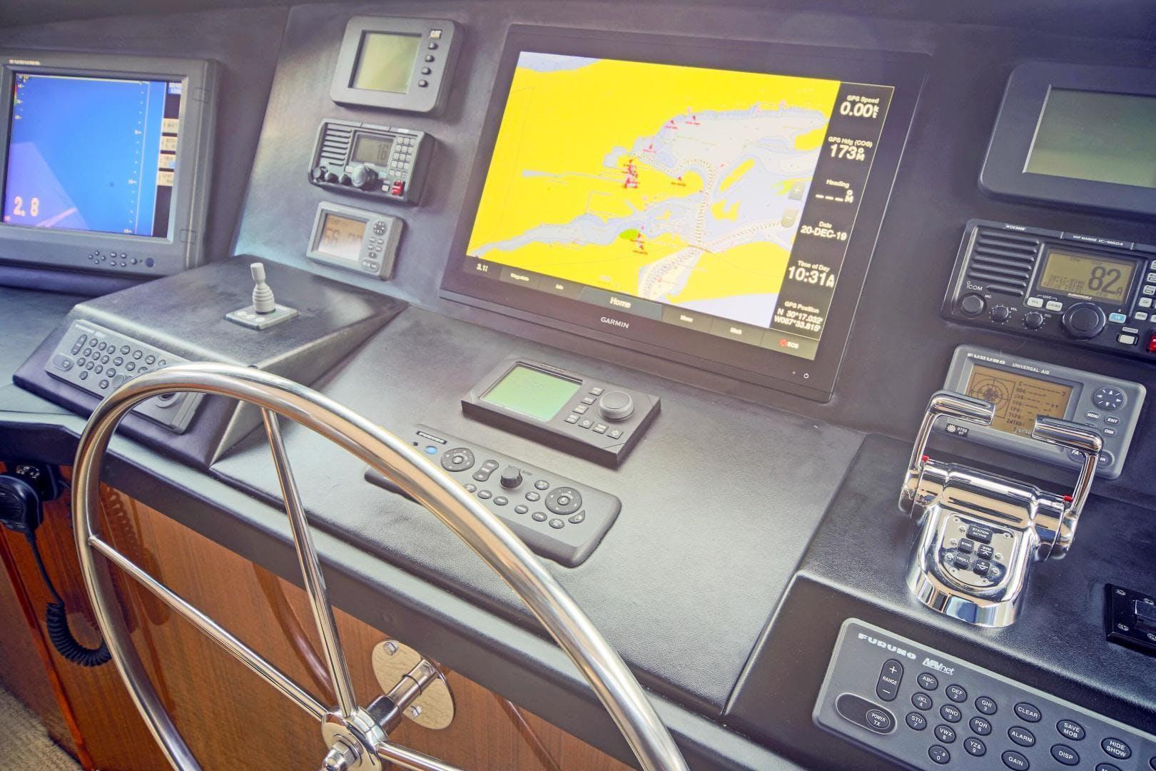 2008 Viking 68' 68' Enclosed Bridge Liquid Apple | Picture 5 of 64