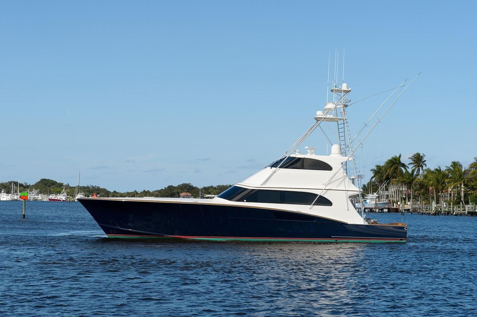 2005 Whiticar 76' Custom Sportfish with Seakeepers Boomer | Picture 7 of 83