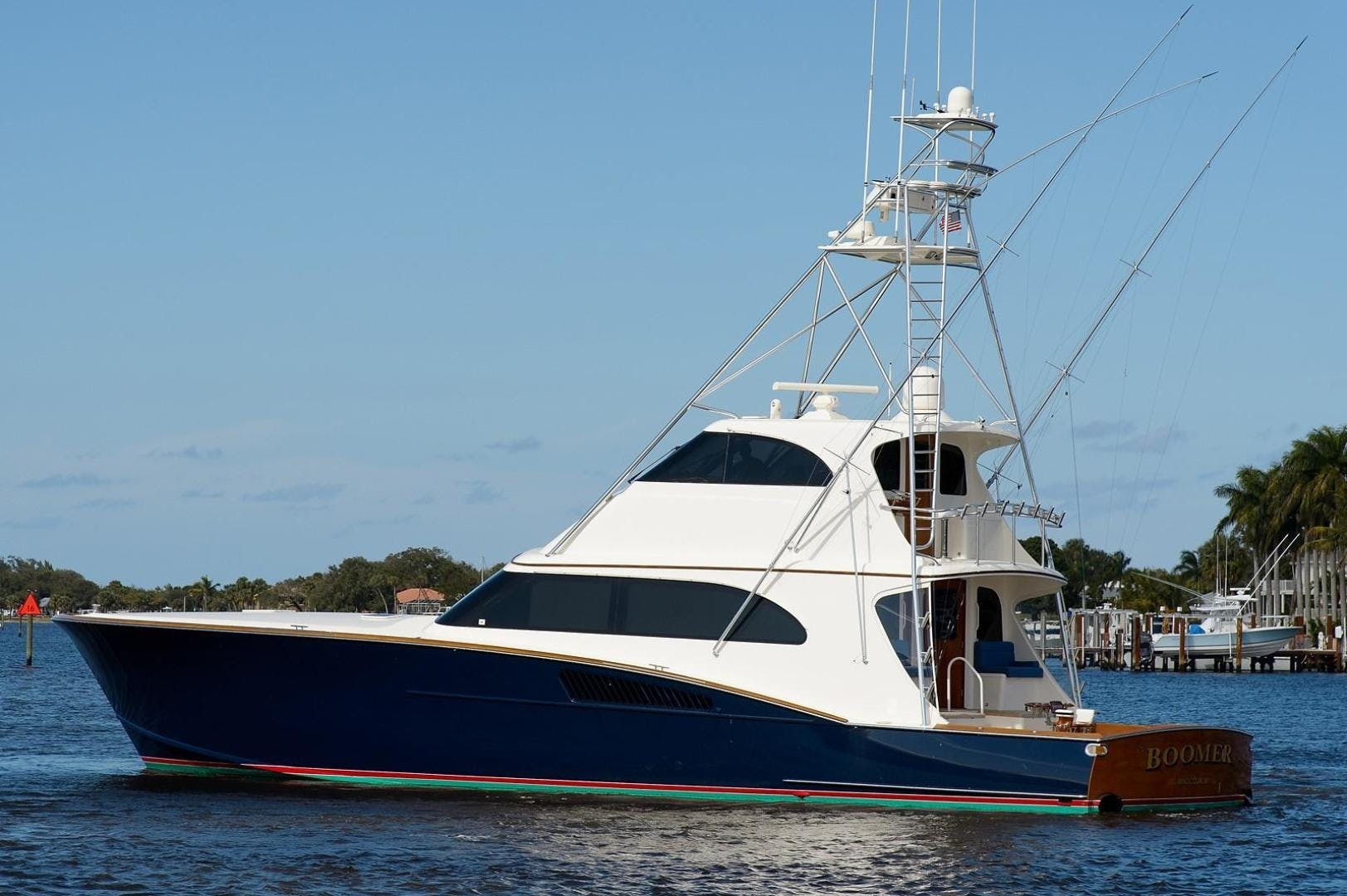 2005 Whiticar 76' Custom Sportfish with Seakeepers Boomer | Picture 1 of 83