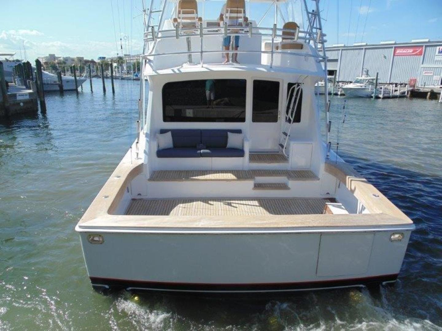 2001 Viking 61' 61 Convertible Duck Soup   Picture 3 of 30