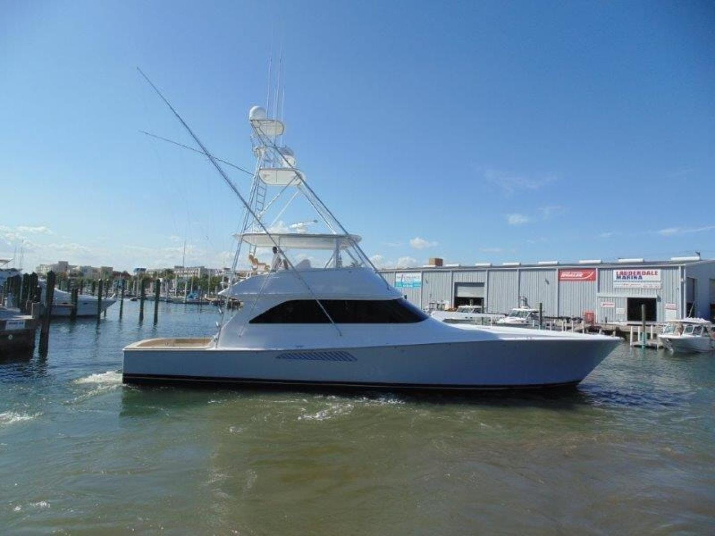 2001 Viking 61' 61 Convertible Duck Soup   Picture 1 of 30