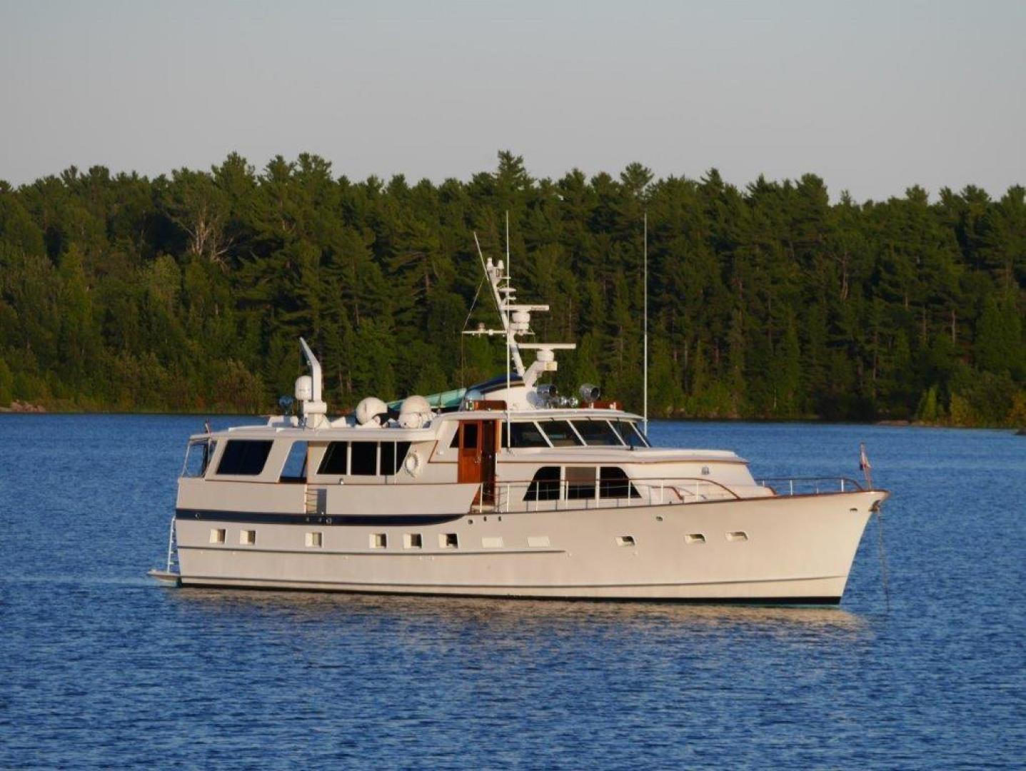 "1968 Burger 72' Raised Pilothouse ""Independence"""