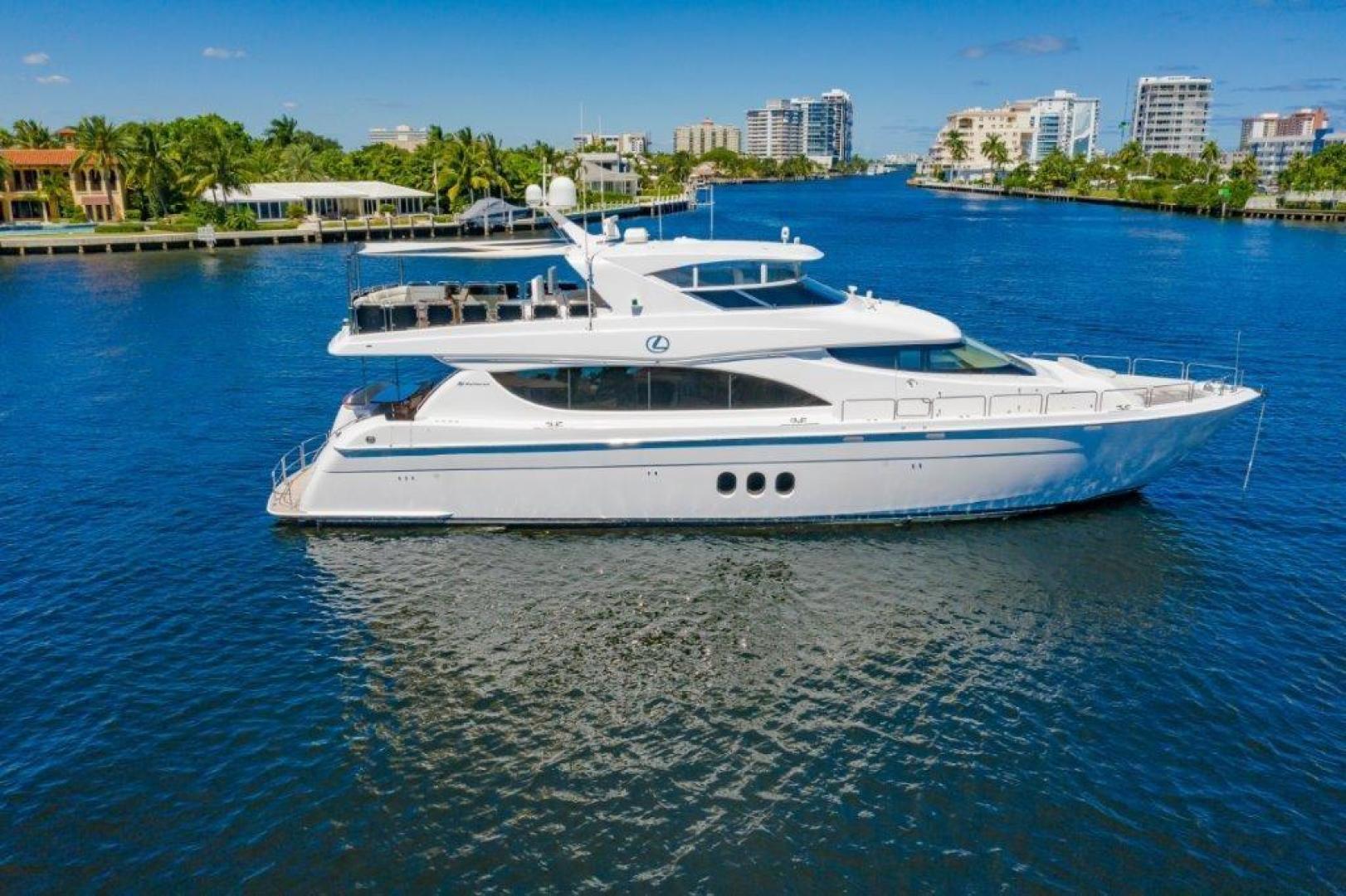 "2013 Hatteras 80' Motor Yacht ""LEXUS LADY"""