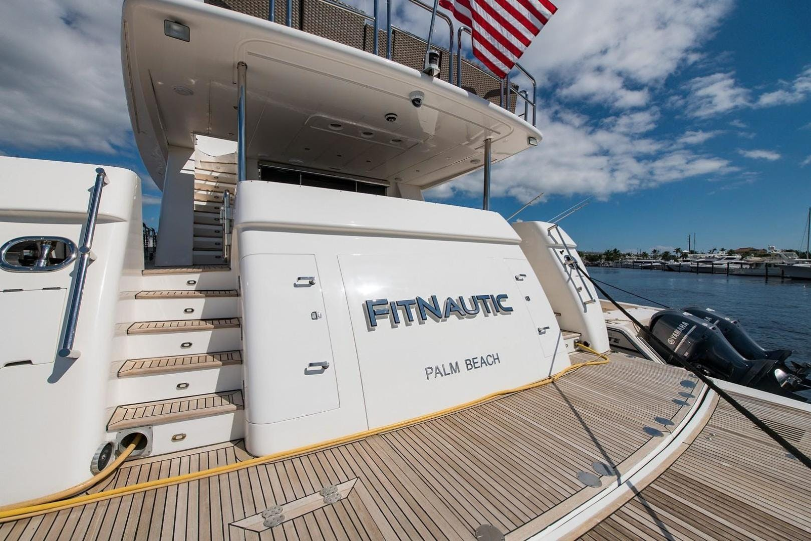 2007 Johnson 87' 87 MOTOR YACHT FITNAUTIC | Picture 2 of 84