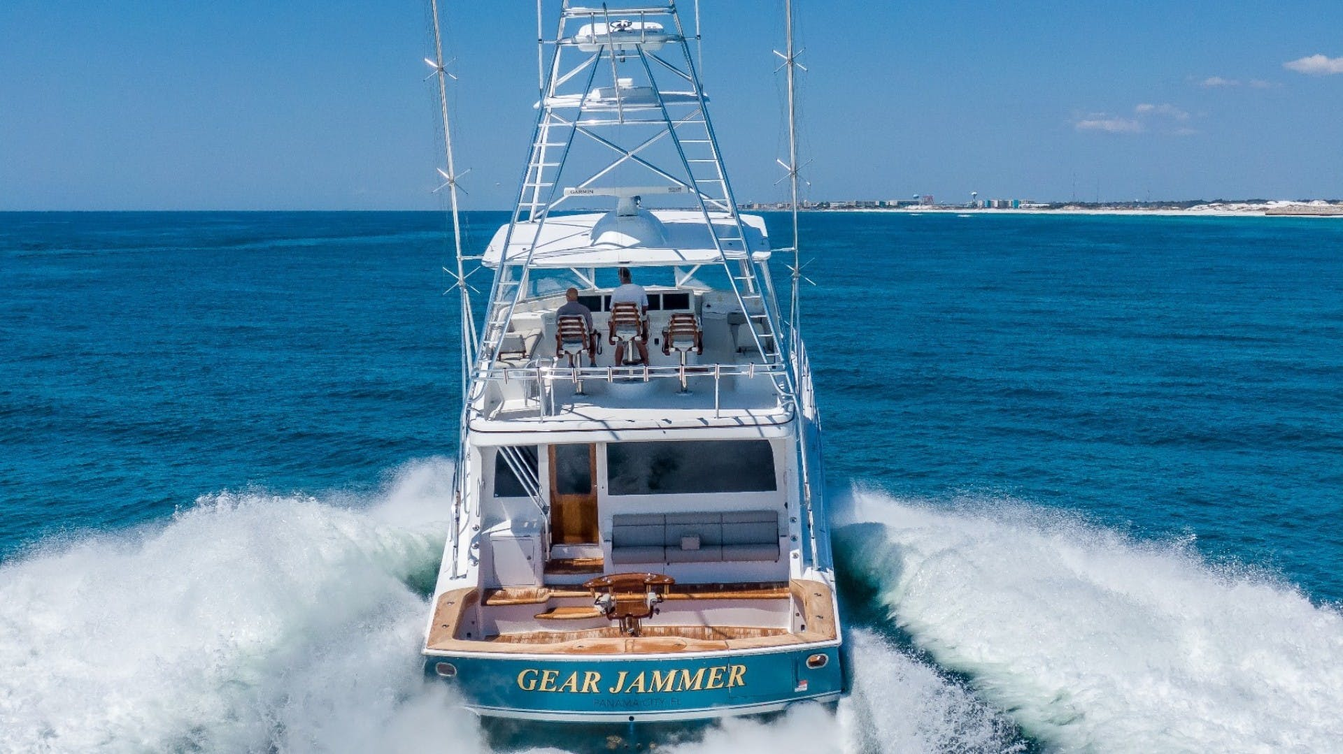 2017 Hatteras 70' GT70 Gear Jammer | Picture 3 of 51