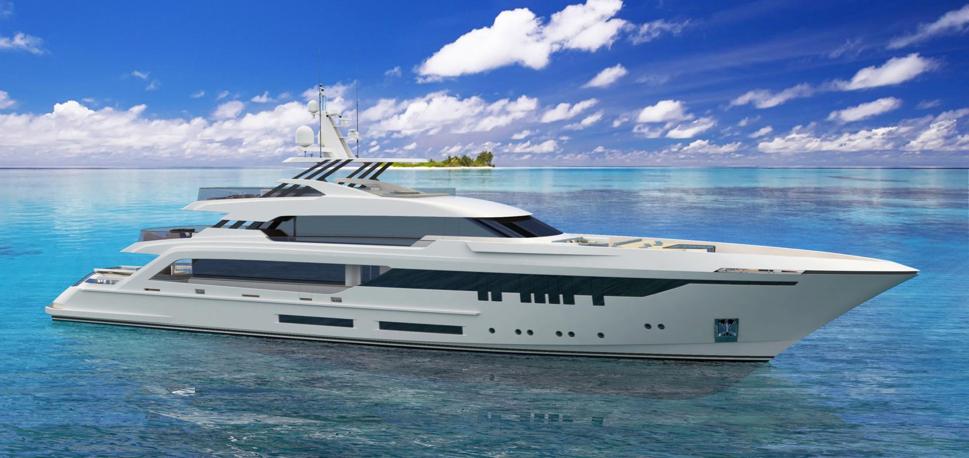 """2023 GHI Yachts 165'  """"THUNDERBIRD 165"""""""