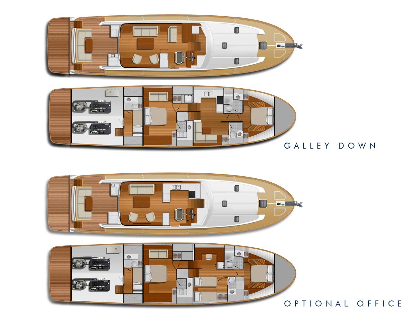 2022 Hunt Yachts 63' Ocean 63 OCEAN 63 | Picture 8 of 8