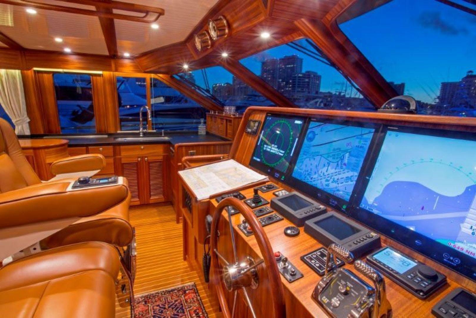 2022 Hunt Yachts 82' Ocean 76 Flybridge OCEAN 76 | Picture 5 of 8