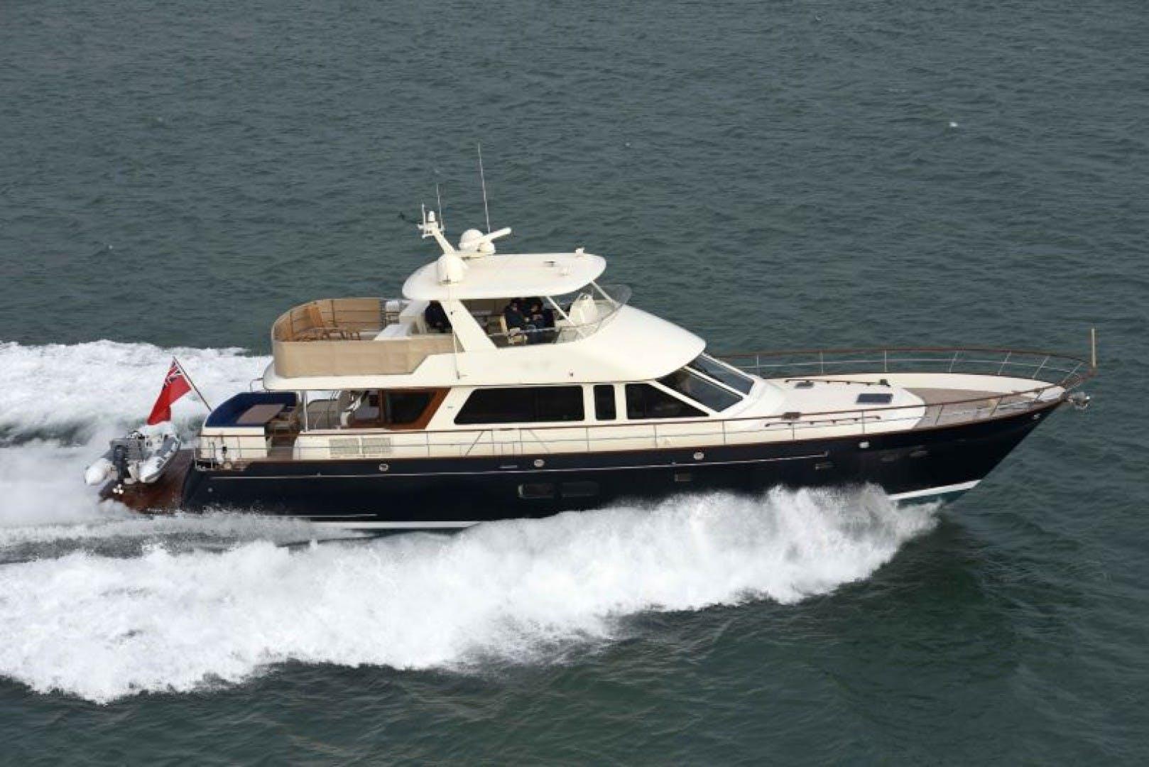 2023 Hunt Yachts 82' Ocean 76 Flybridge OCEAN 76 | Picture 1 of 9