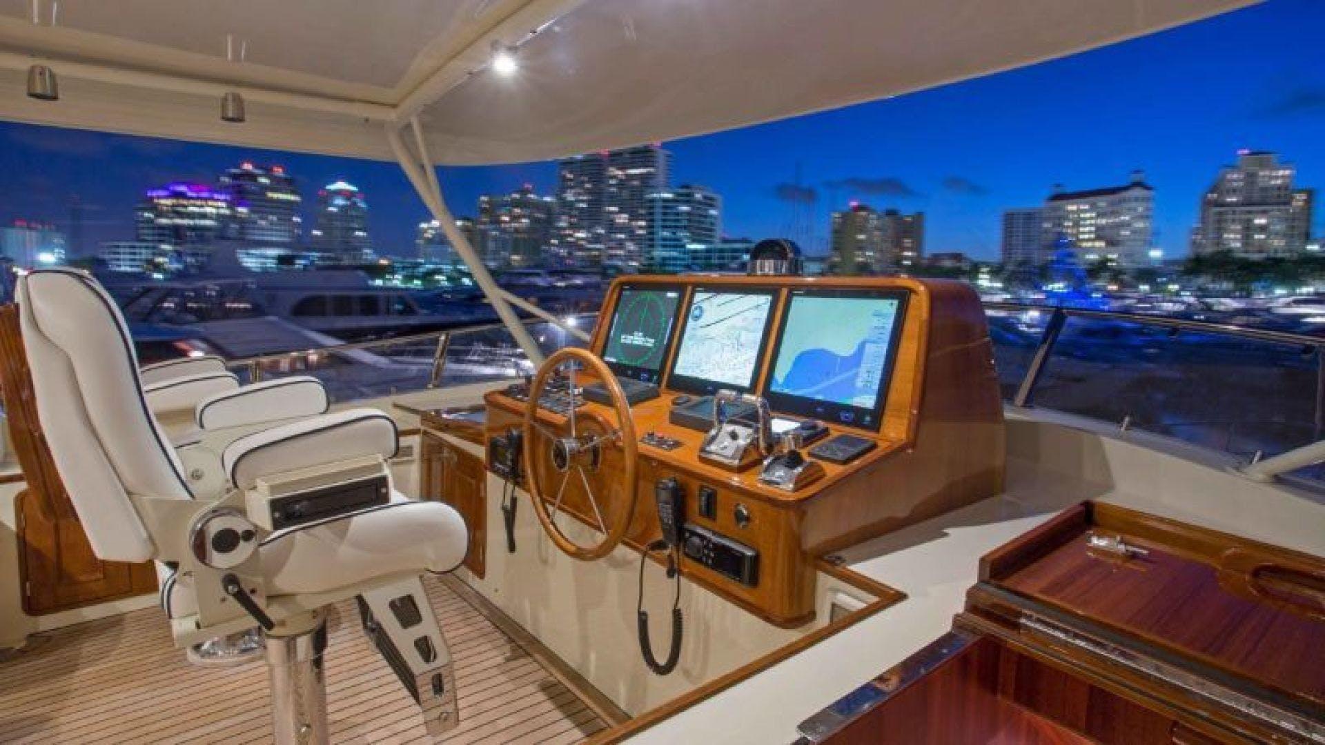 2022 Hunt Yachts 82' Ocean 76 Flybridge OCEAN 76 | Picture 6 of 8