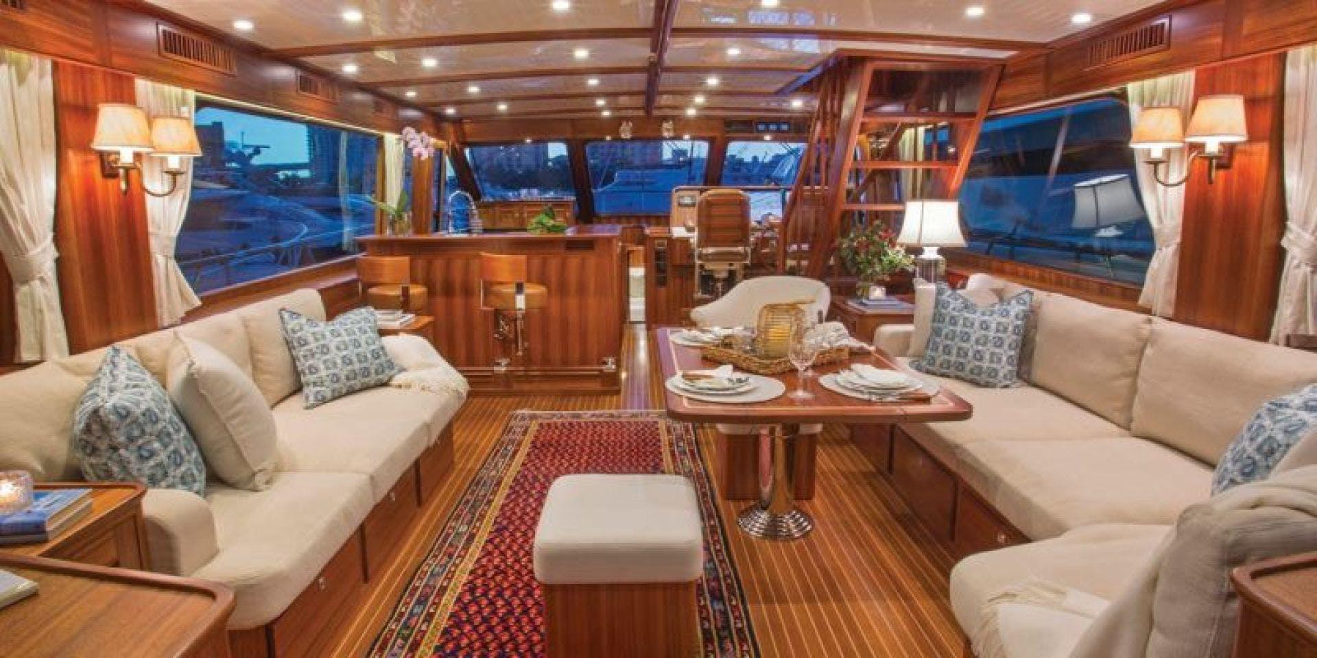 2022 Hunt Yachts 82' Ocean 76 Flybridge OCEAN 76 | Picture 2 of 8