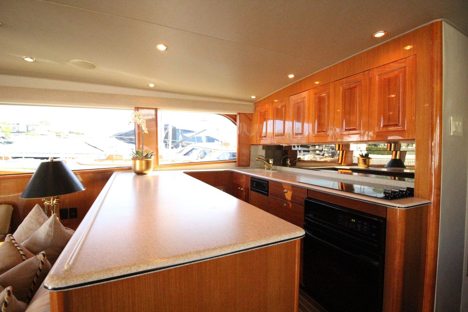 2001 Viking 65' 65 Enclosed Bridge Never Say Never | Picture 1 of 36