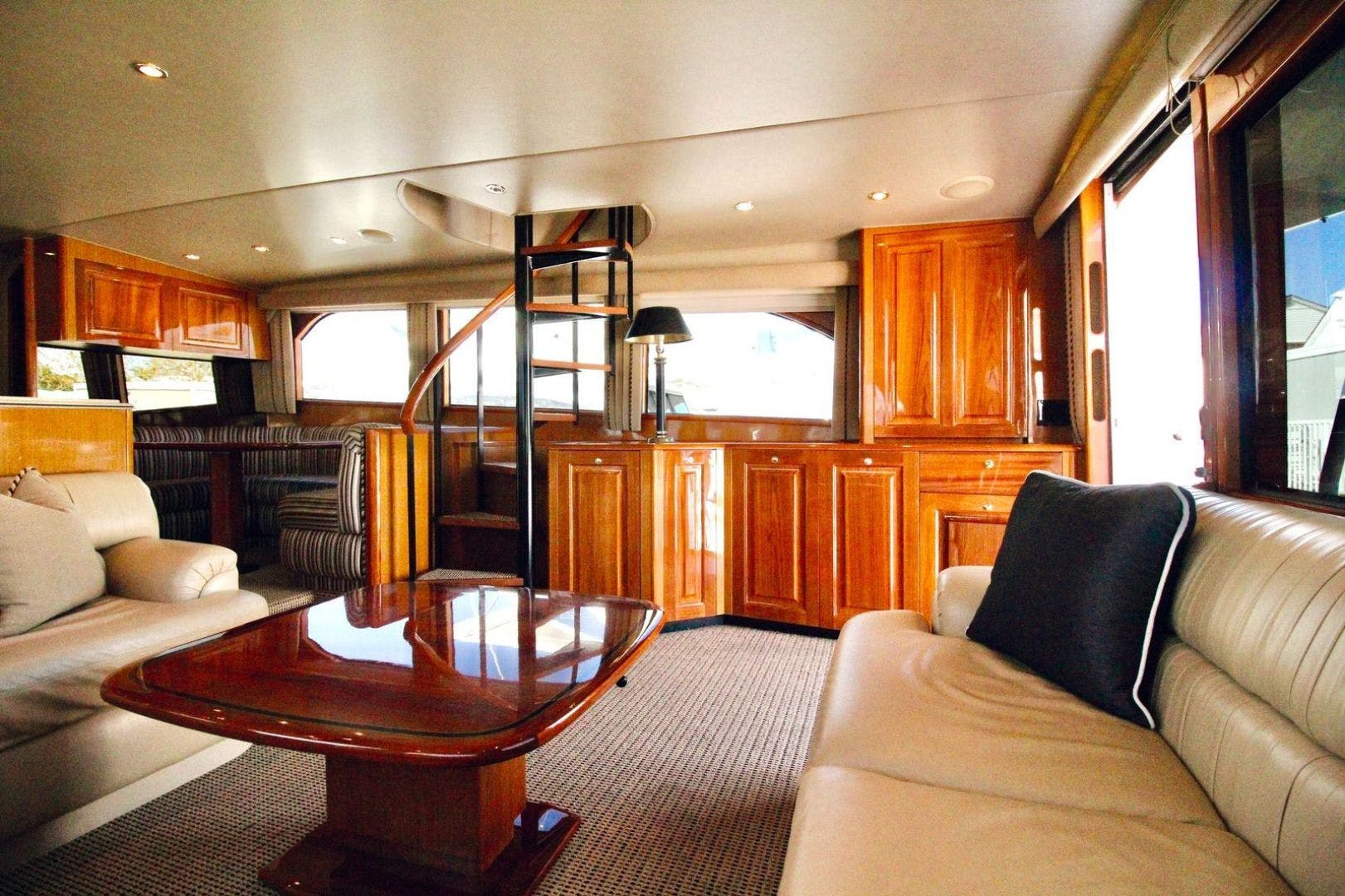 2001 Viking 65' 65 Enclosed Bridge Never Say Never | Picture 5 of 36