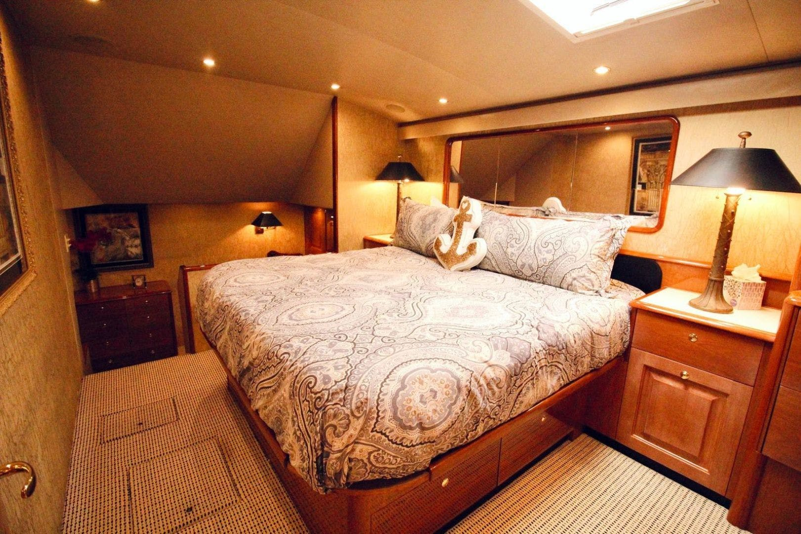 2001 Viking 65' 65 Enclosed Bridge Never Say Never | Picture 6 of 36