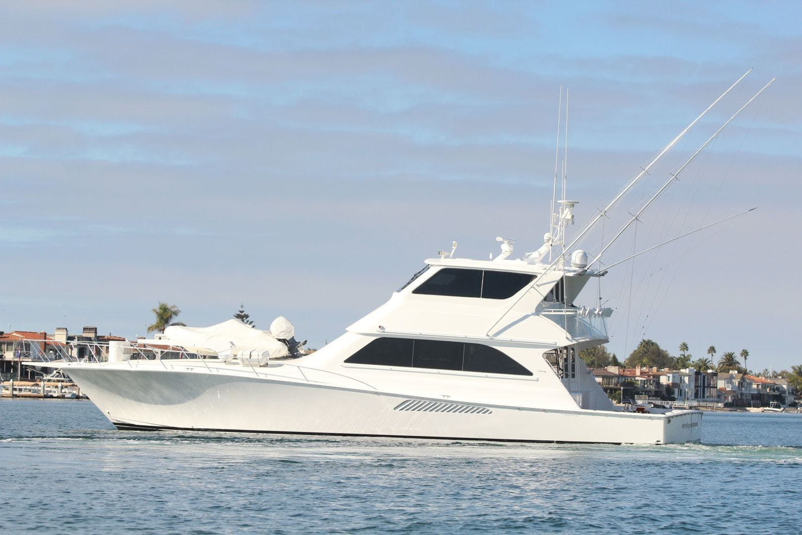 2001 Viking 65' 65 Enclosed Bridge Never Say Never | Picture 3 of 36