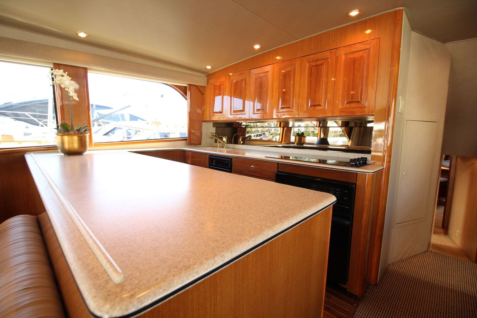 2001 Viking 65' 65 Enclosed Bridge Never Say Never | Picture 4 of 35