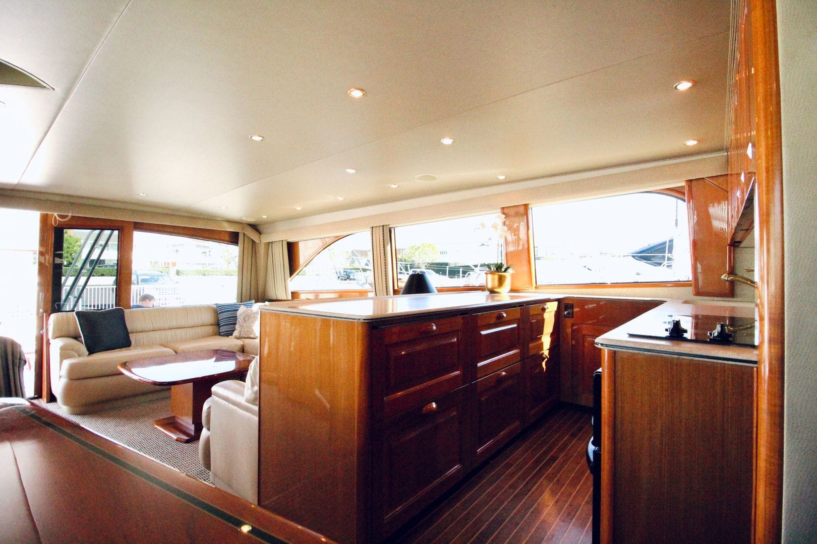 2001 Viking 65' 65 Enclosed Bridge Never Say Never | Picture 7 of 35
