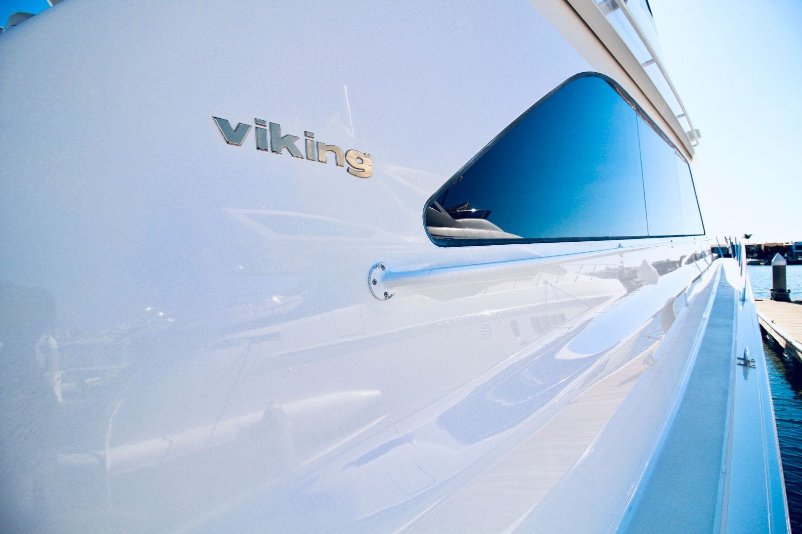 2001 Viking 65' 65 Enclosed Bridge Never Say Never | Picture 8 of 36