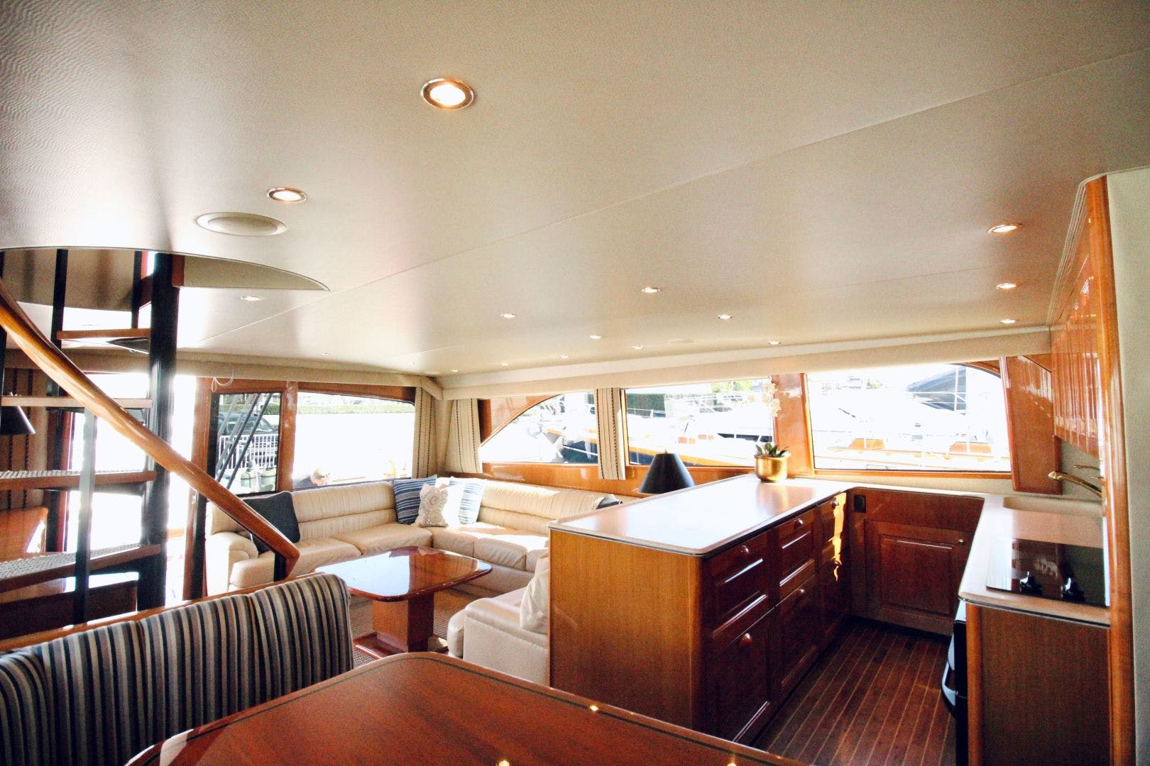 2001 Viking 65' 65 Enclosed Bridge Never Say Never | Picture 8 of 35