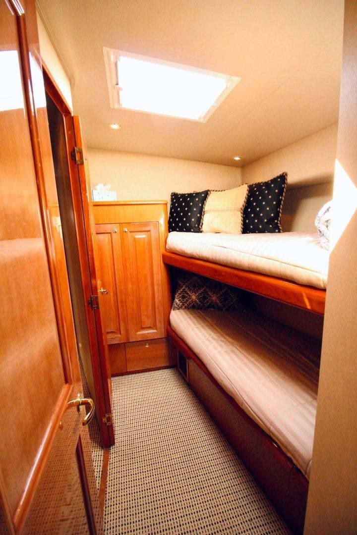 2001 Viking 65' 65 Enclosed Bridge Never Say Never | Picture 6 of 35
