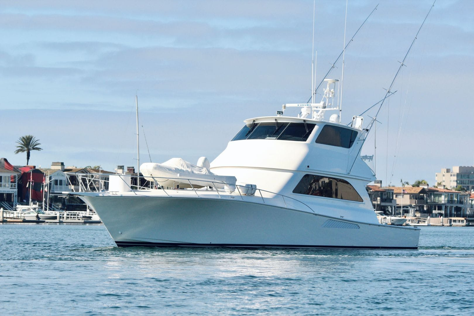 2001 Viking 65' 65 Enclosed Bridge Never Say Never | Picture 3 of 35