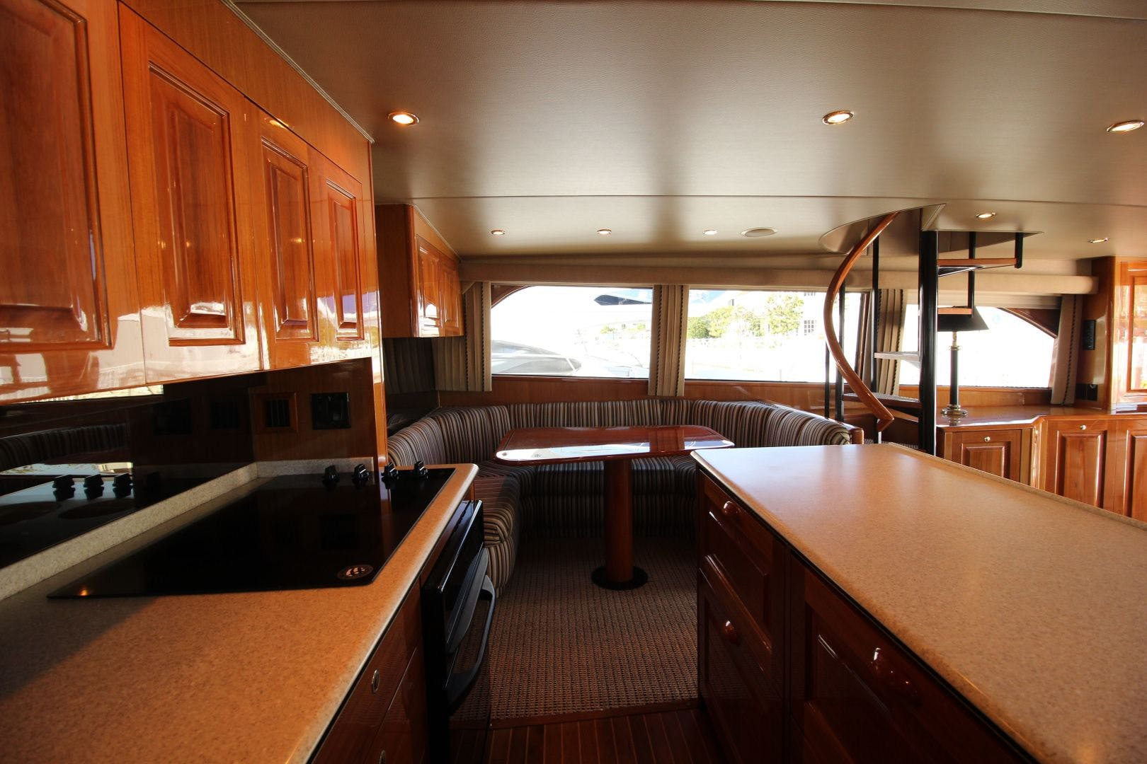 2001 Viking 65' 65 Enclosed Bridge Never Say Never | Picture 2 of 36
