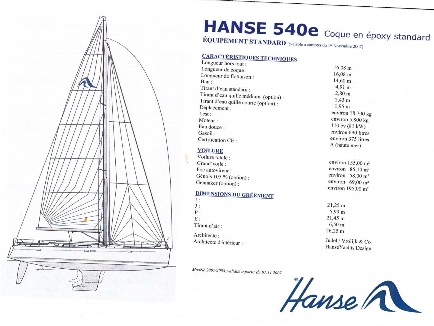 2008 Hanse 53' 540e Ouldary | Picture 7 of 48