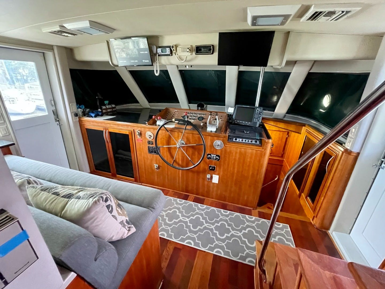 1985 Hatteras 82' 82 Cockpit Motor Yacht Papillon | Picture 3 of 51