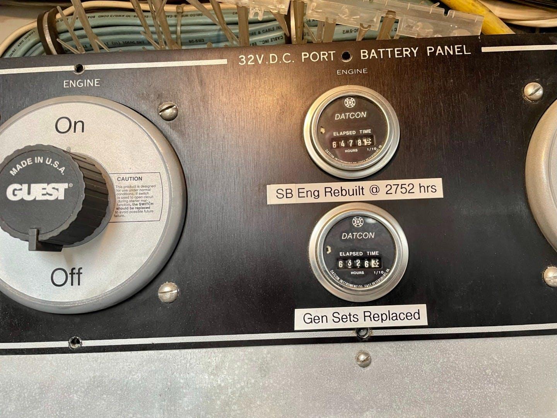 1985 Hatteras 82' 82 Cockpit Motor Yacht Papillon | Picture 6 of 51