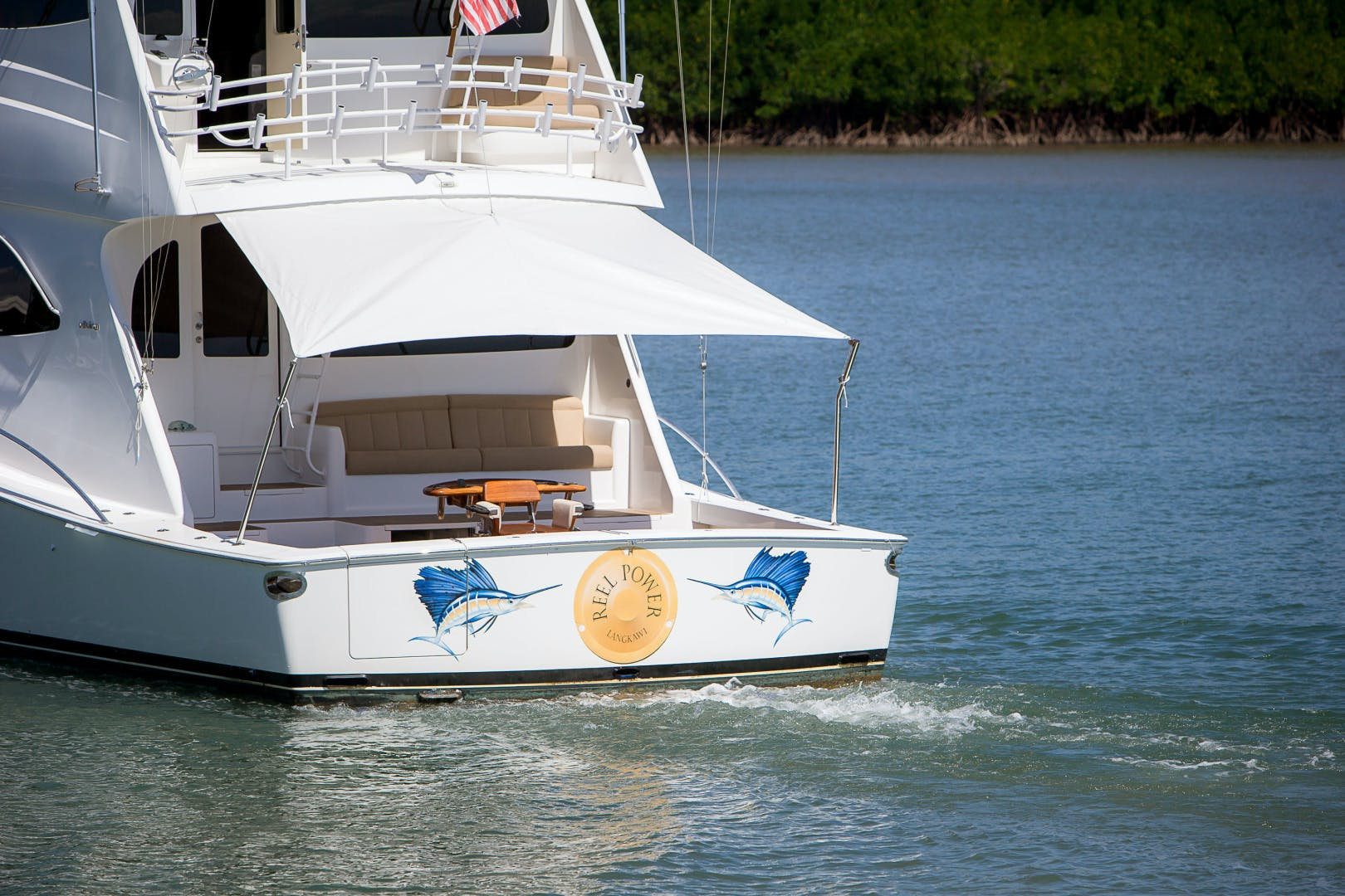 2012 Viking 76' 76 Enclosed Skybridge Reel Power | Picture 6 of 62