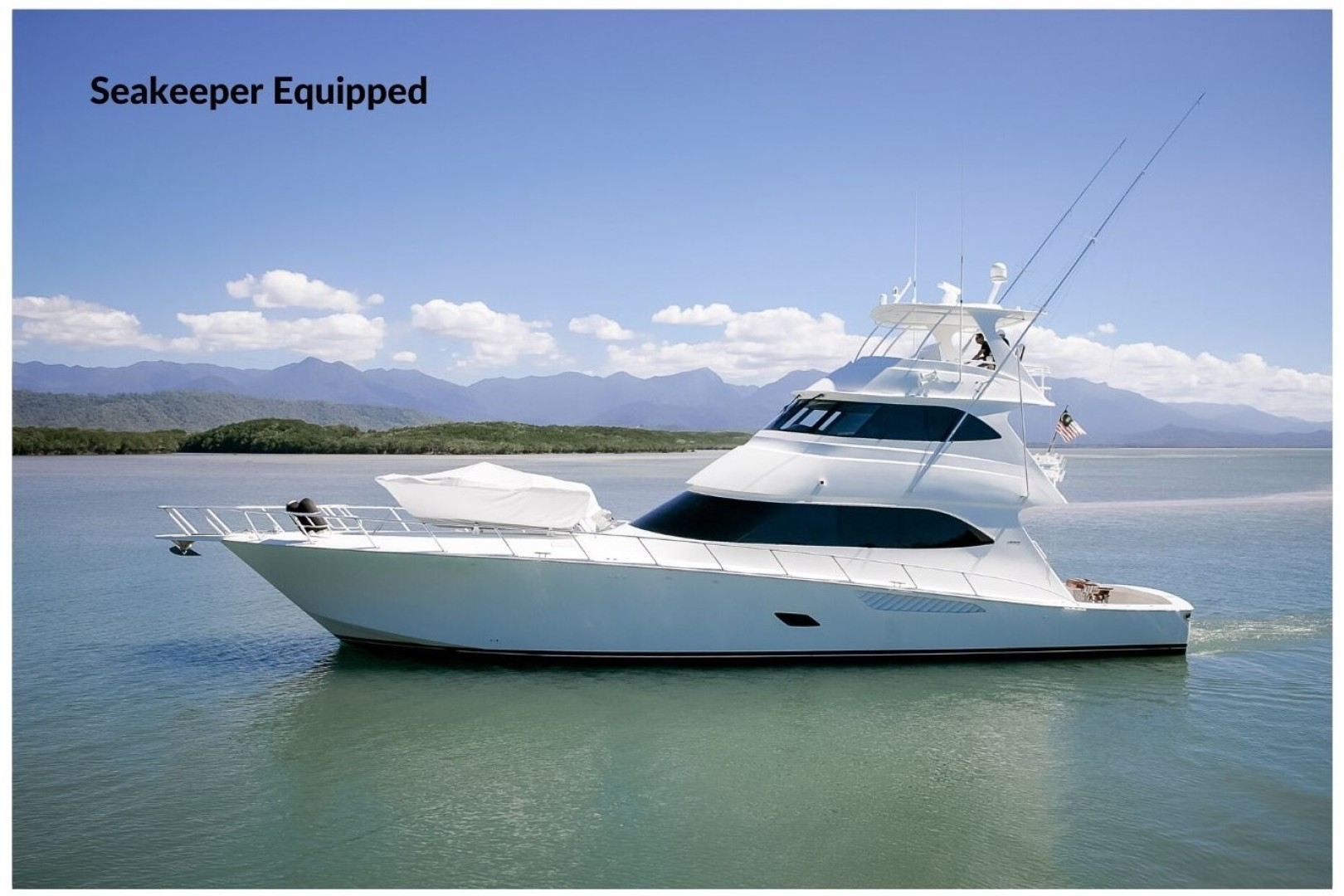 """2012 Viking 76' 76 Enclosed Skybridge """"Reel Power"""""""