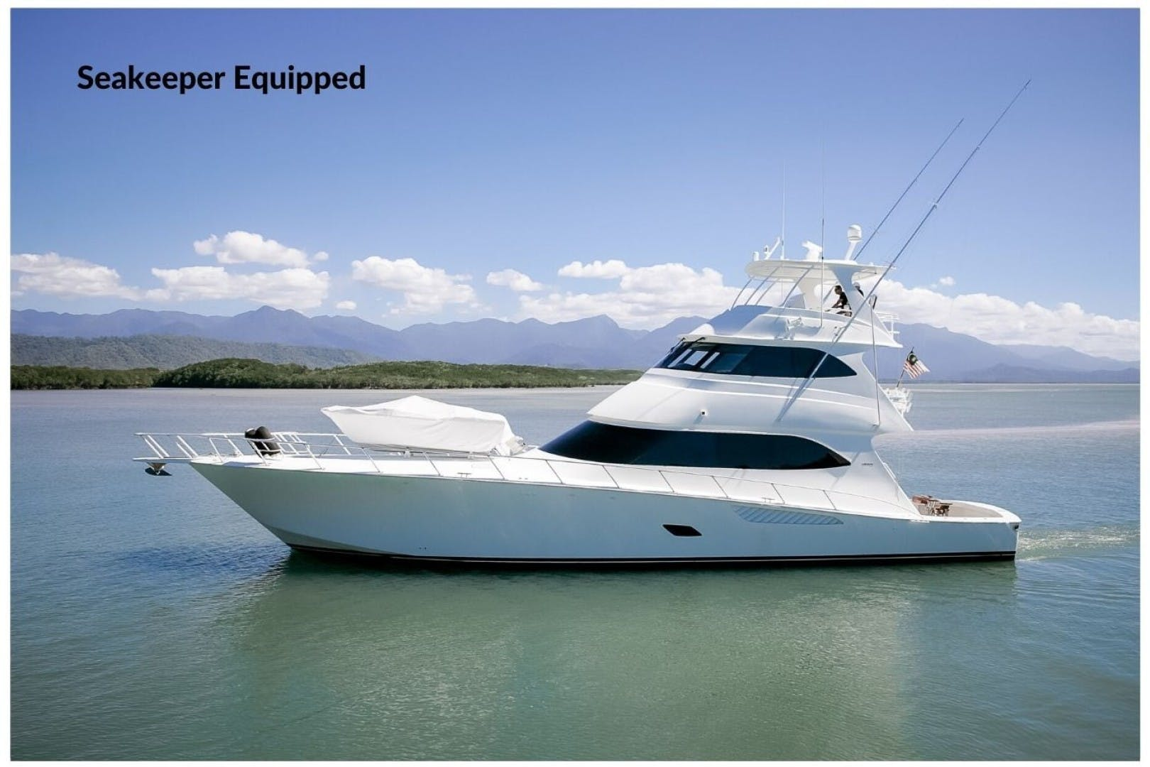 2012 Viking 76' 76 Enclosed Skybridge Reel Power | Picture 1 of 62