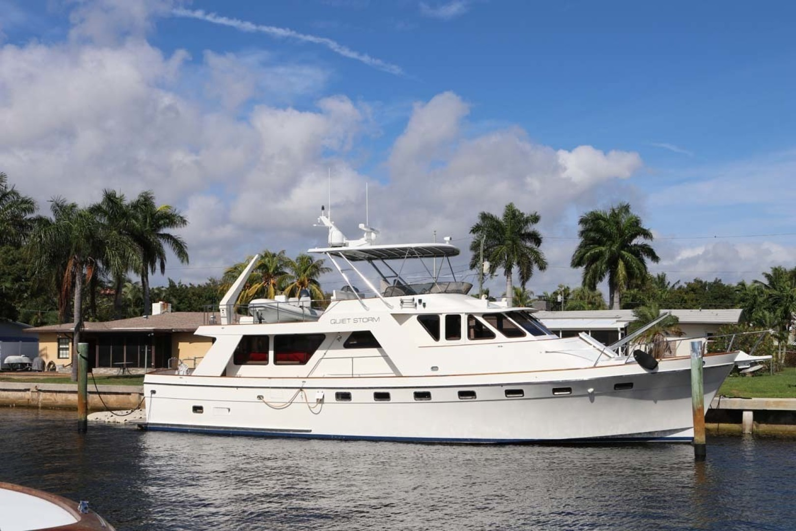 61' Nordlund 1985 Raised Pilothouse Quiet Storm