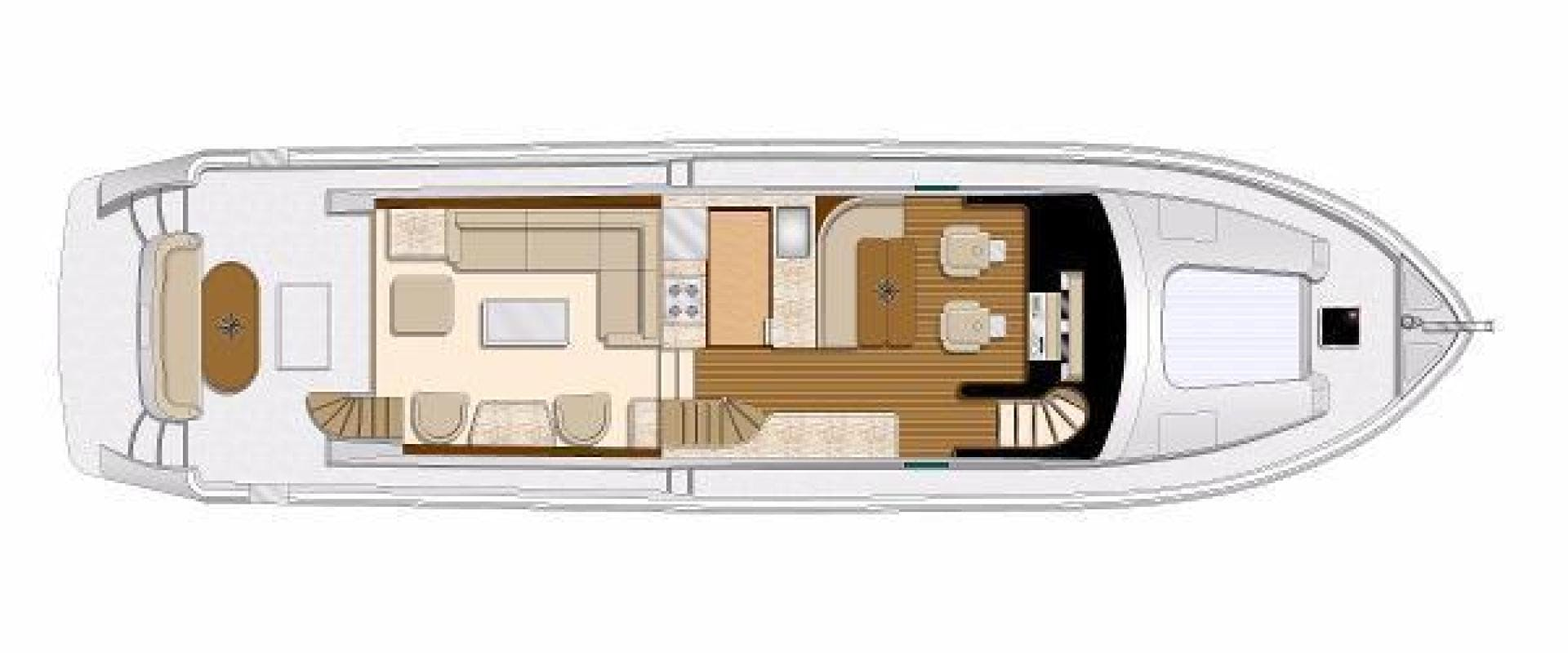 2020 Hampton 65' 650 Pilothouse For Order | Picture 4 of 4