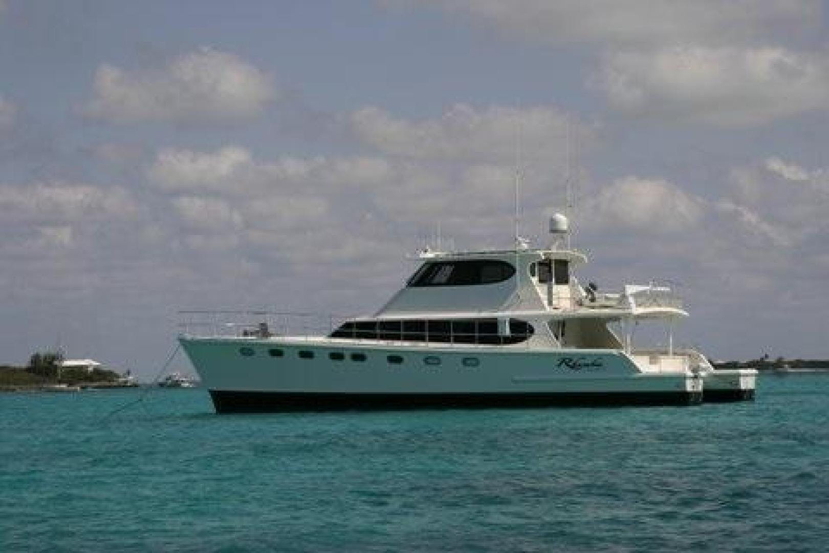 2010 Custom 65' Malcolm Tenant Power Cat Rhumba | Picture 2 of 96