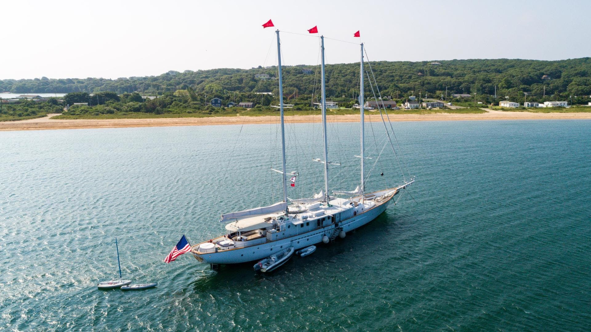 1983 Palmer Johnson 157' Tri-Masted Staysail Arabella  | Picture 3 of 32