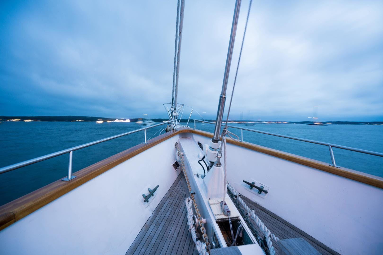 1983 Palmer Johnson 157' Tri-Masted Staysail Arabella  | Picture 8 of 32