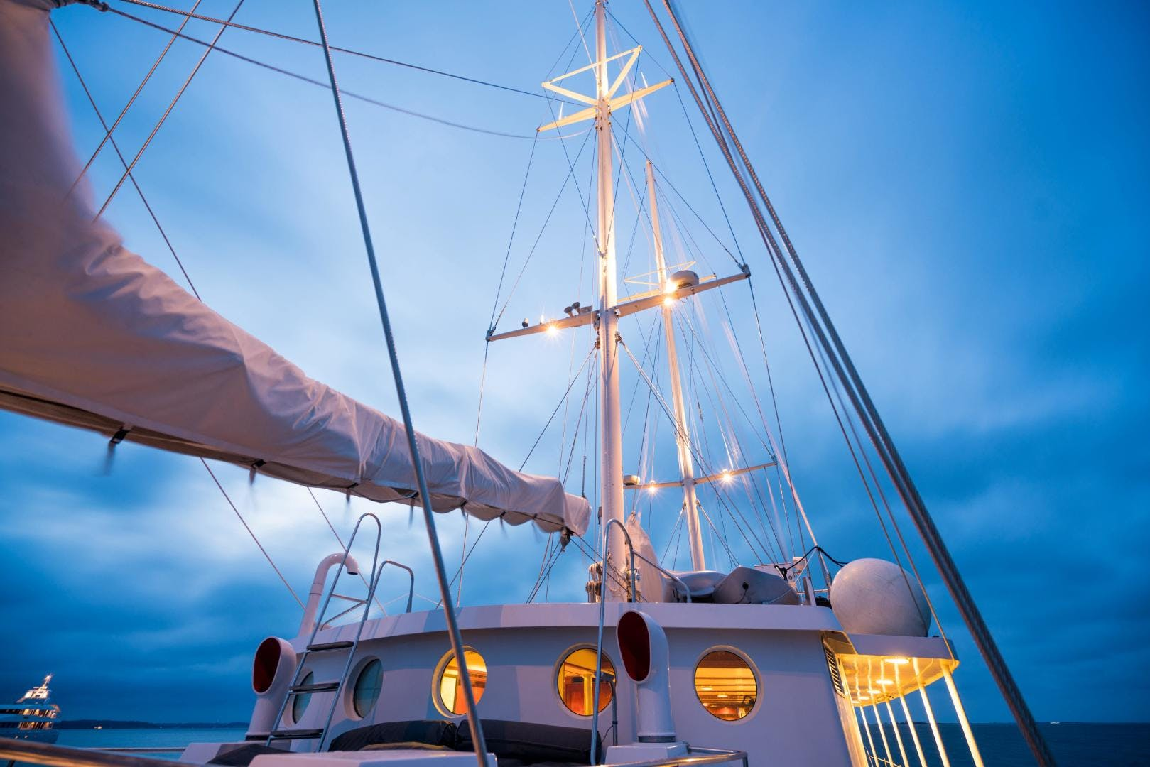 1983 Palmer Johnson 157' Tri-Masted Staysail Arabella  | Picture 4 of 32