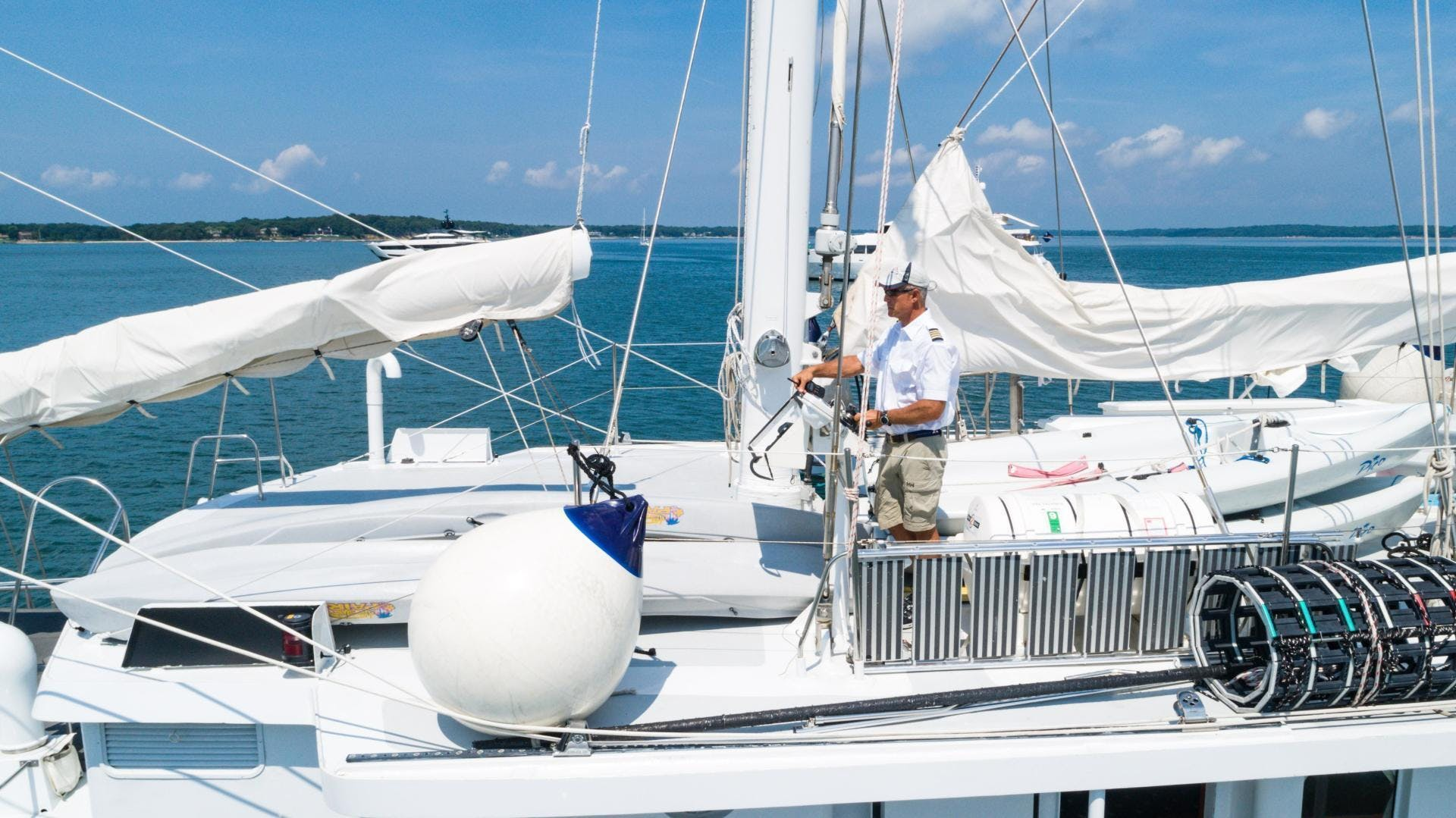 1983 Palmer Johnson 157' Tri-Masted Staysail Arabella  | Picture 6 of 32