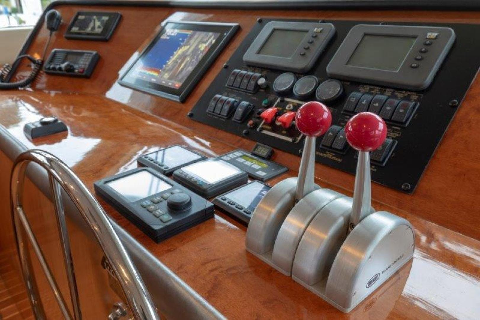 2003 Hatteras 75' Cockpit Motoryacht VICTORY LANE | Picture 1 of 51