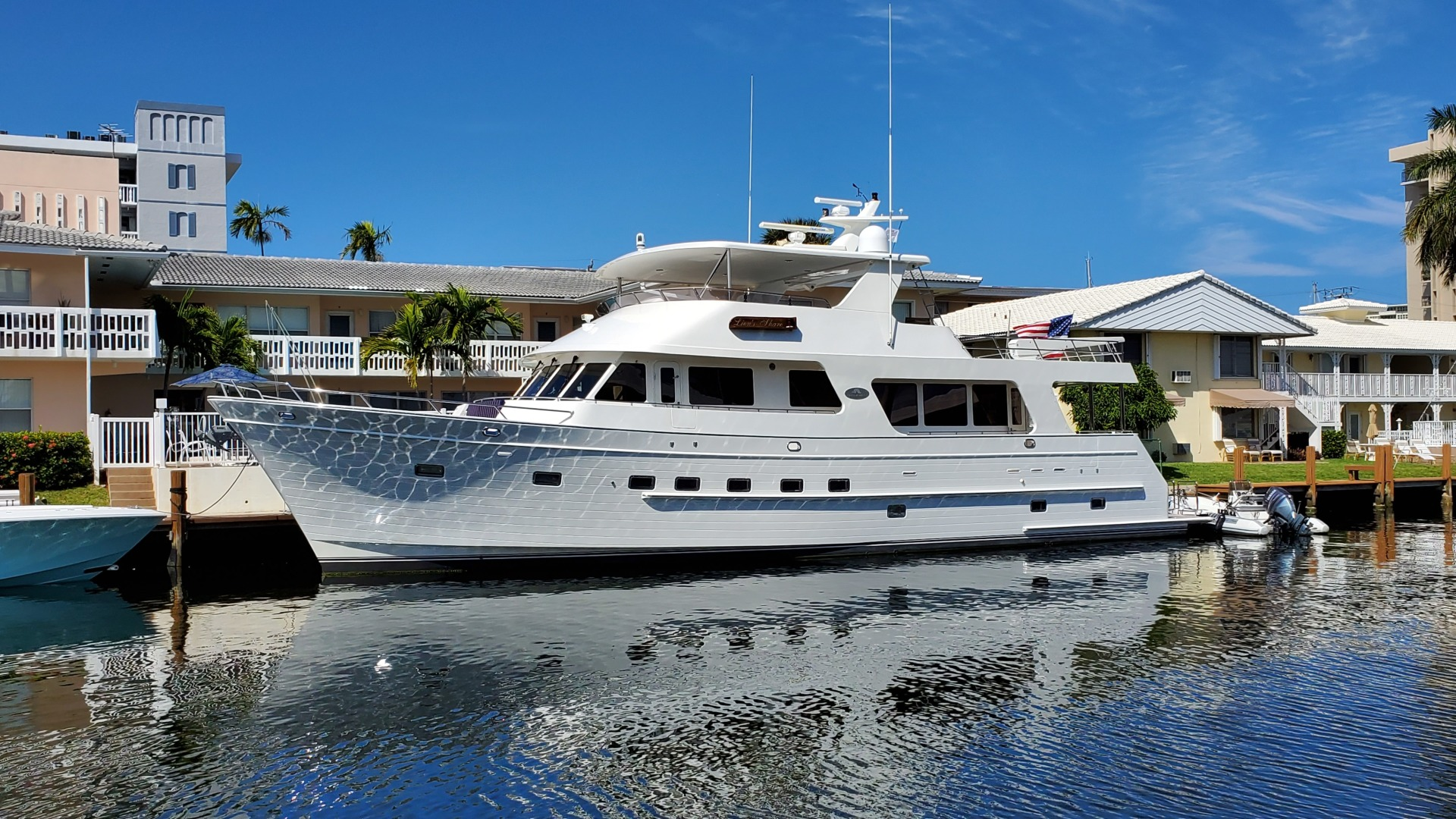 75' Outer Reef Yachts 2005 730 MY LION'S SHARE