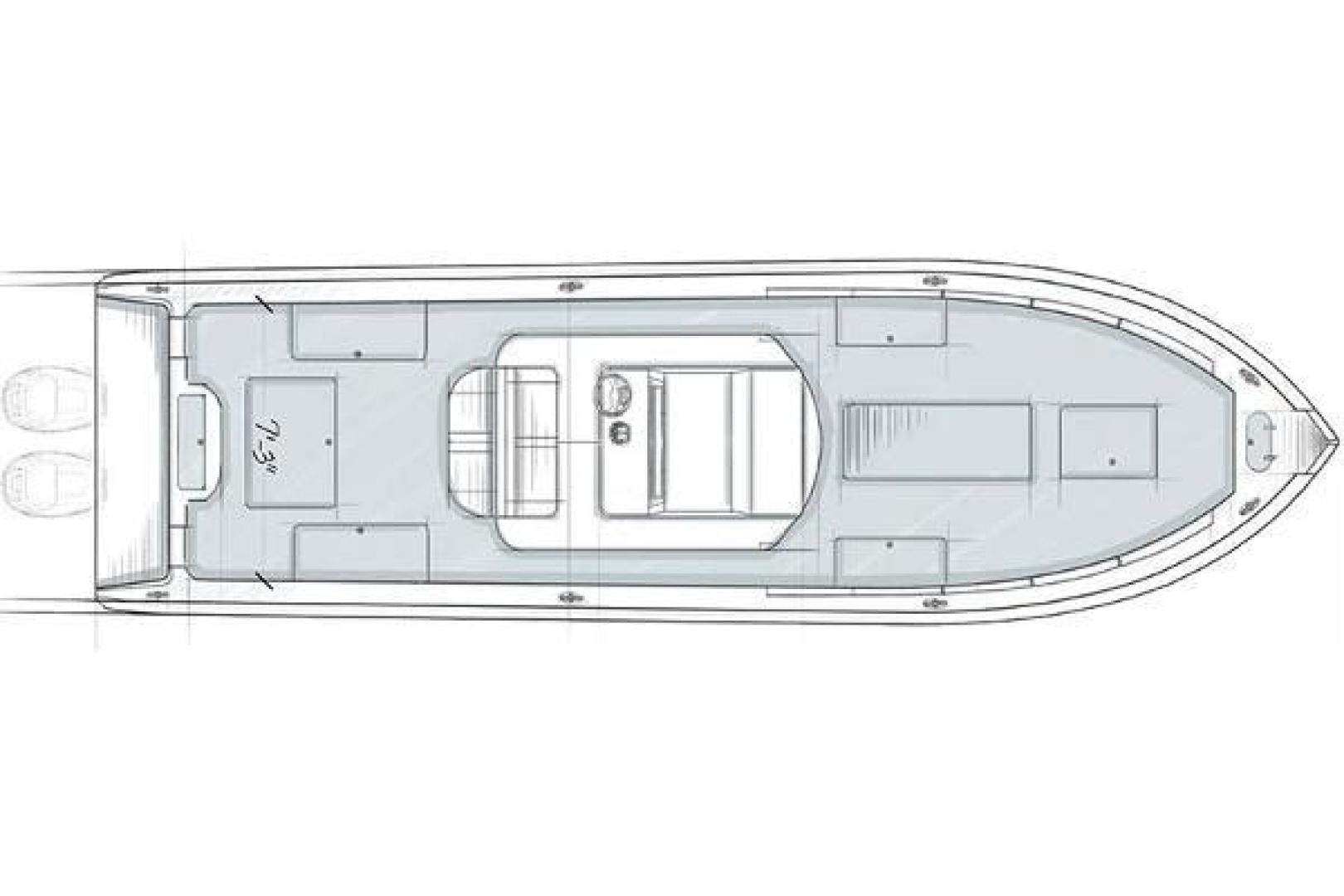 2021 Yellowfin 32' 32 Offshore 32 Offshore   Picture 8 of 9
