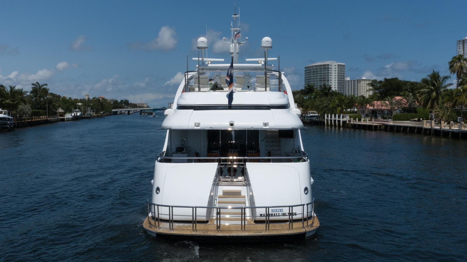 2003 Millennium Super Yachts 118' Raised Pilothouse Arthur's Way | Picture 3 of 54