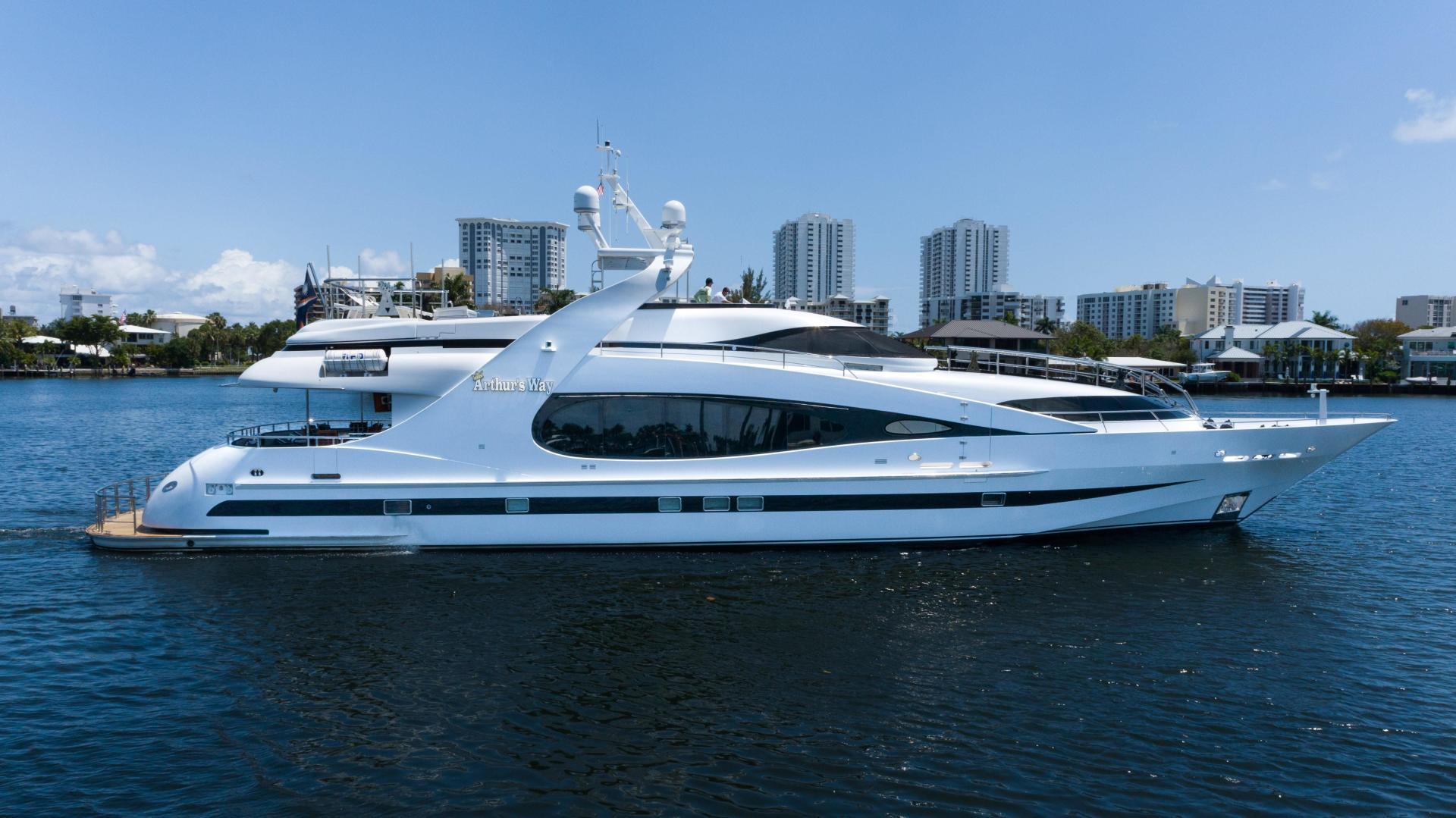 """2003 Millennium Super Yachts 118' Raised Pilothouse """"Arthur's Way"""""""