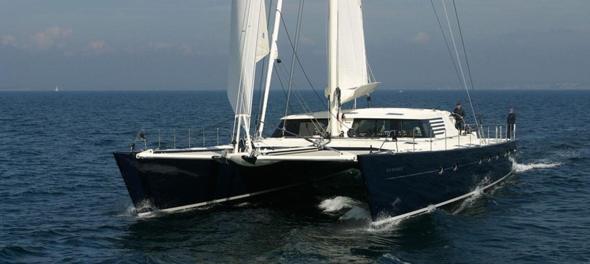 """2004 JFA 84' Catamaran """"Azizam"""""""